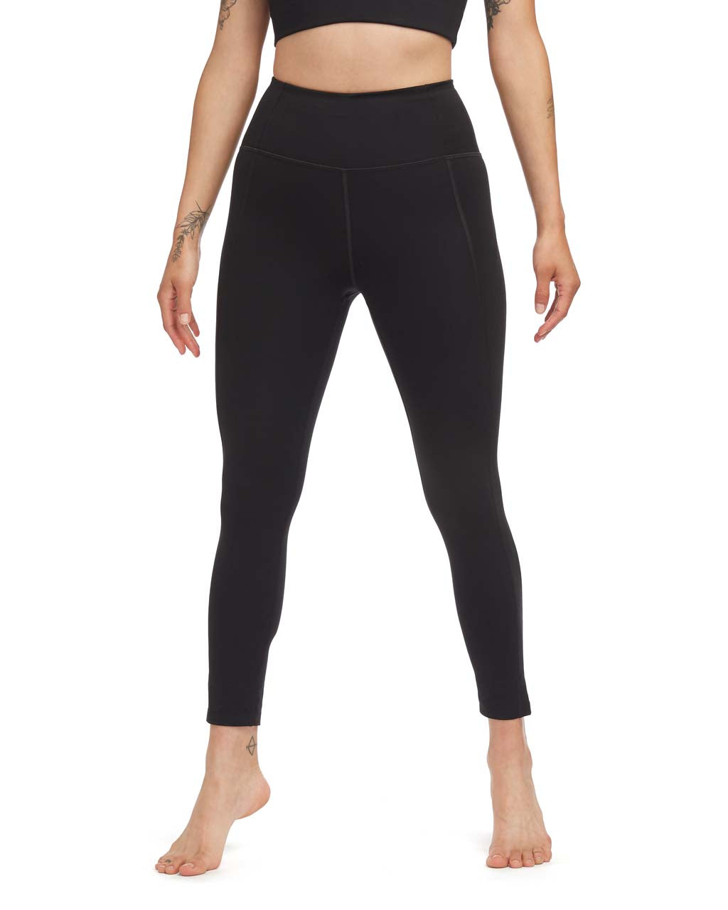 876cd215c56dde 7/8 Compression Legging - Black by Girlfriend Collective - active leggings  - ban.do