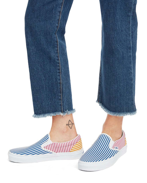 d91edfbe430d Classic Slip-On - Deck Club Stripes by vans - shoes - ban.do