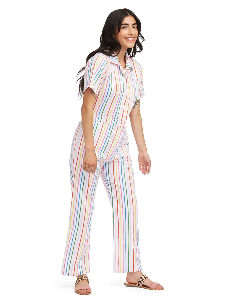 Coverall - Rainbow Stripe