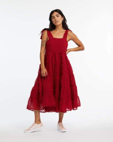Likely Lady Midi Dress   Ruby by Ban.Do