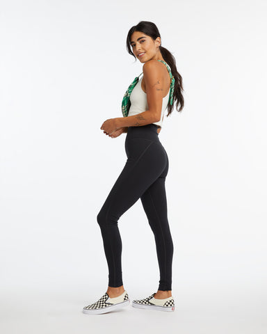 Full Length Compression Legging - Black