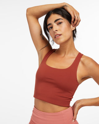 Paloma sports bra now comes in sedona.