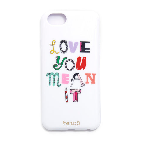 iphone 6/6s case - love you mean it