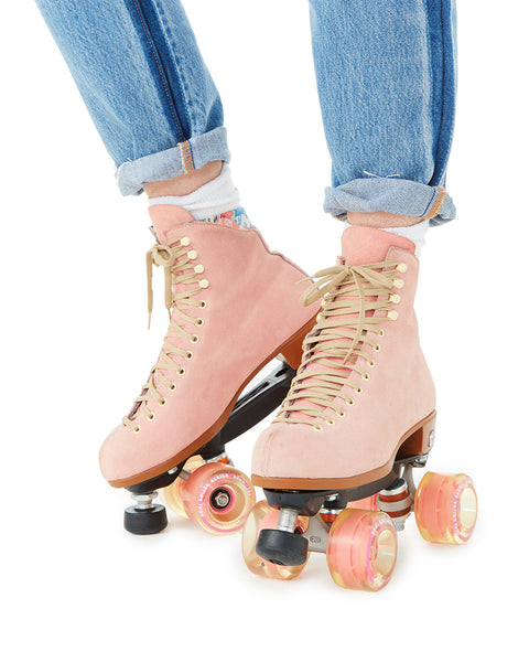 Roller Skate Sneakers >> Pink Roller Skates by moxi roller skates - shoes - ban.do