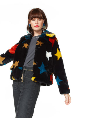 multi-color star coat