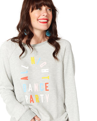 dance party sweatshirt