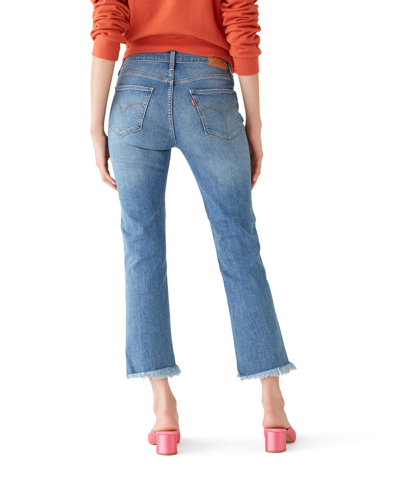 724 Straight Crop Jeans