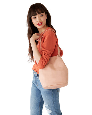canvas bucket bag - canyon