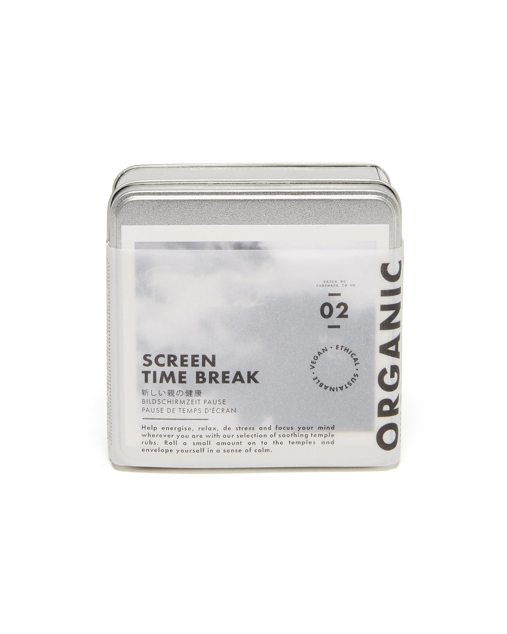 screen time break kit shown in packaging