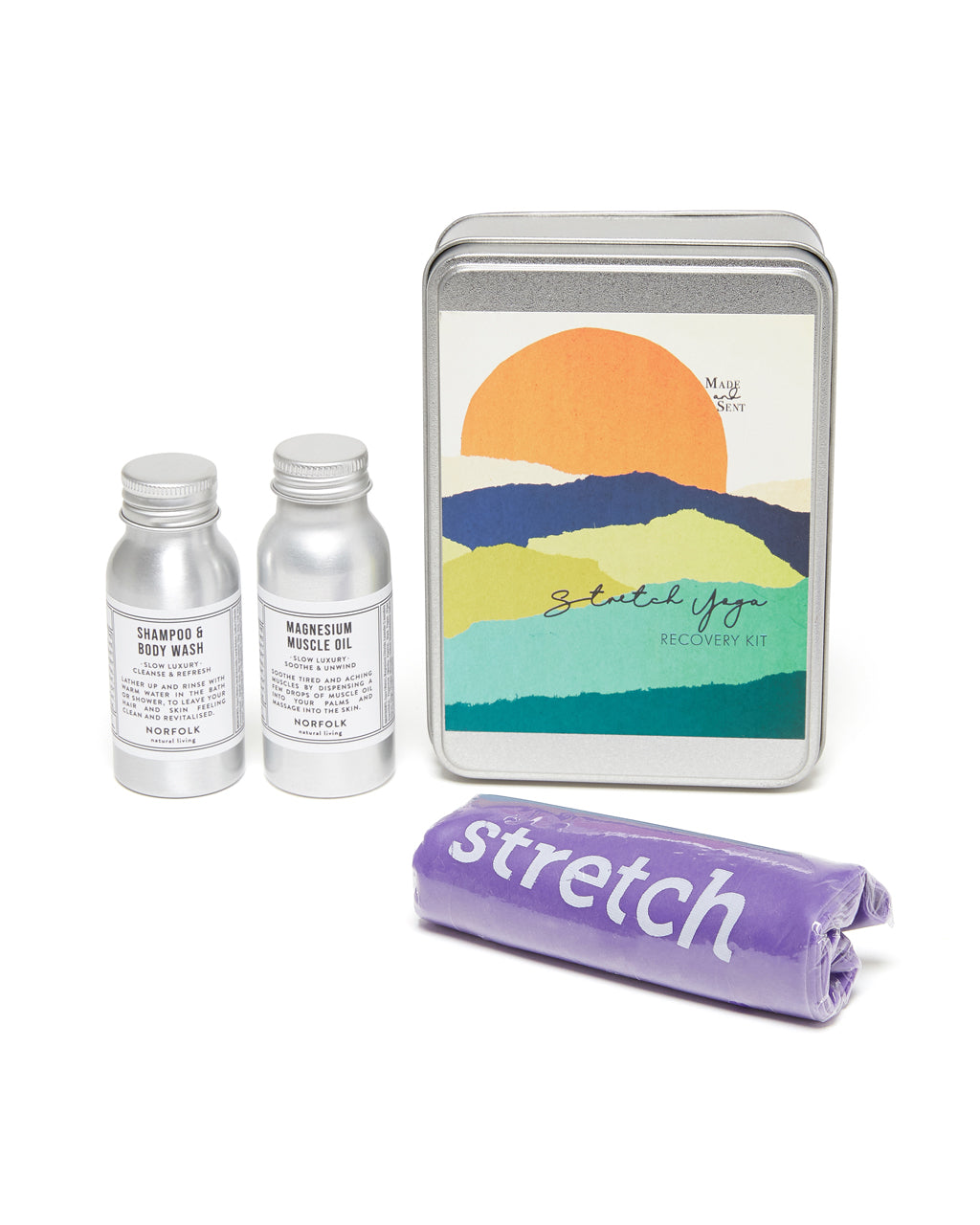 yoga stretch self care kit products
