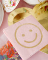Blush Smile Napkins