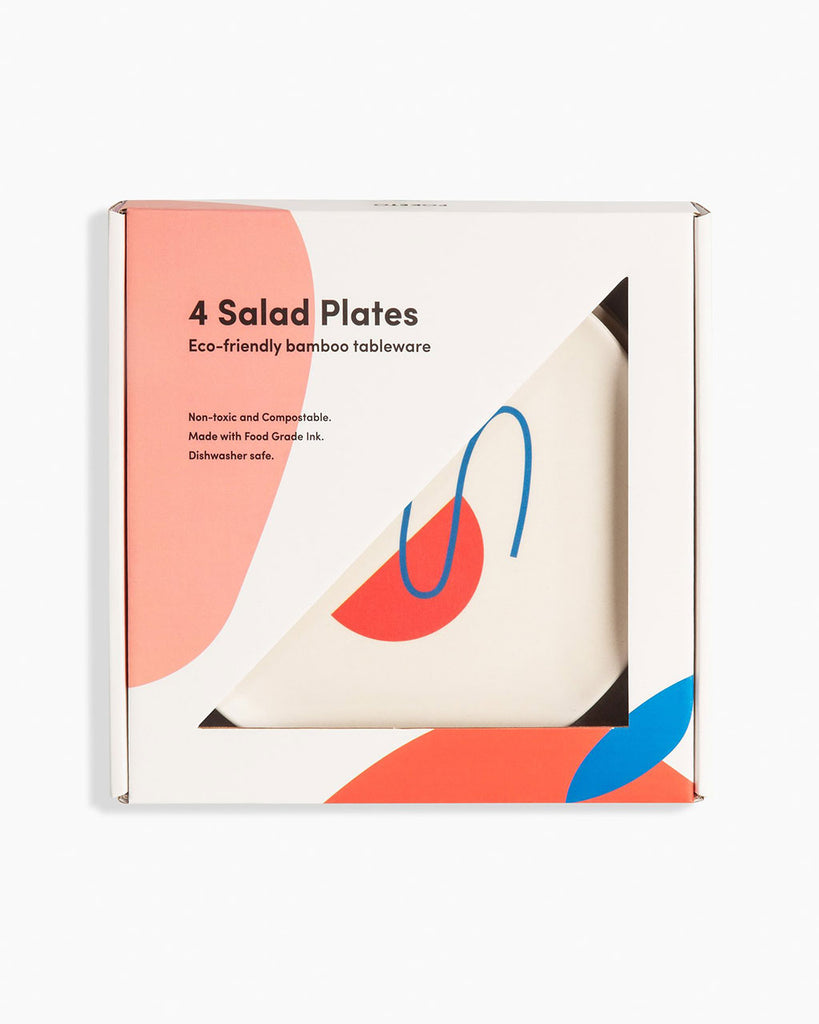 salad plates shown in packaging