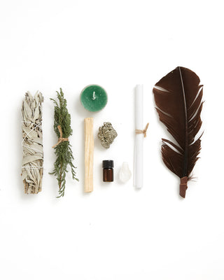wealth and abundance ritual kit
