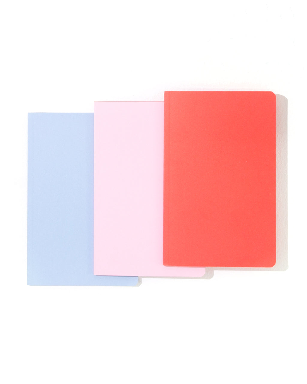 edge notebook - coral/gold