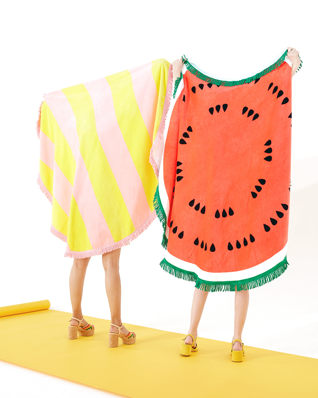 All Around Giant Circle Towel - Watermelon