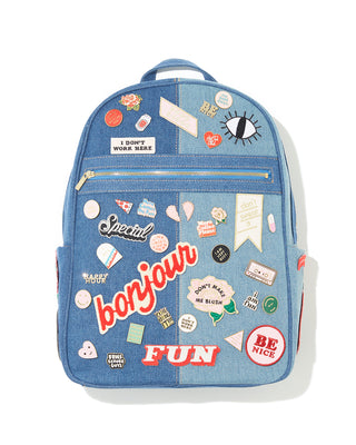 get it together backpack - denim