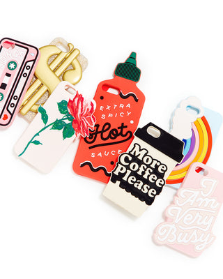 silicone iphone case - hot sauce