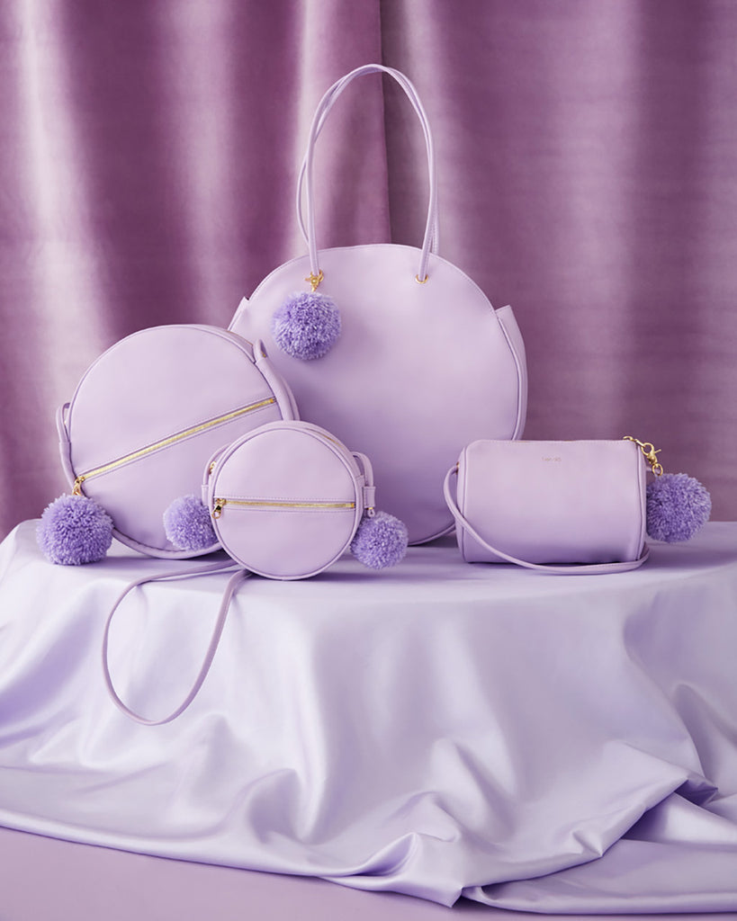 sidekick crossbody bag - lilac