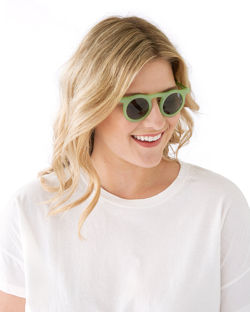 Lind Sunglasses - Chartreuse