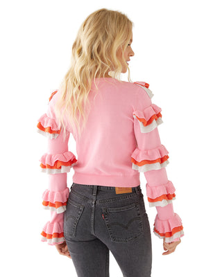super ruffle top