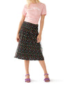 spirit away midi skirt