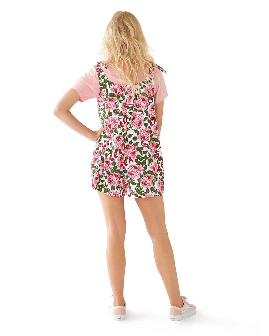 rose tinted view romper