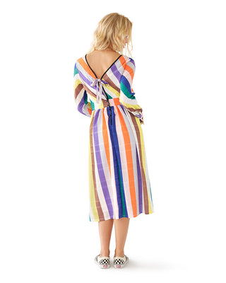 color by numbers midi dress