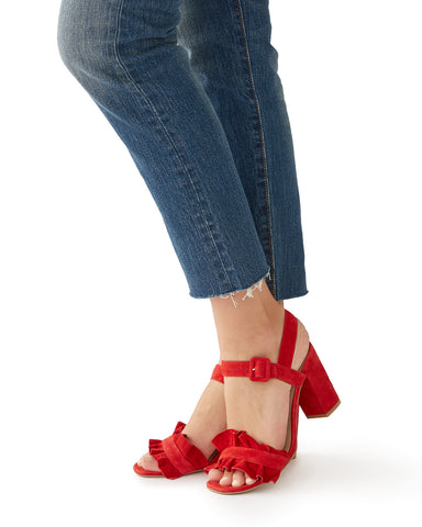 sadie heel - red