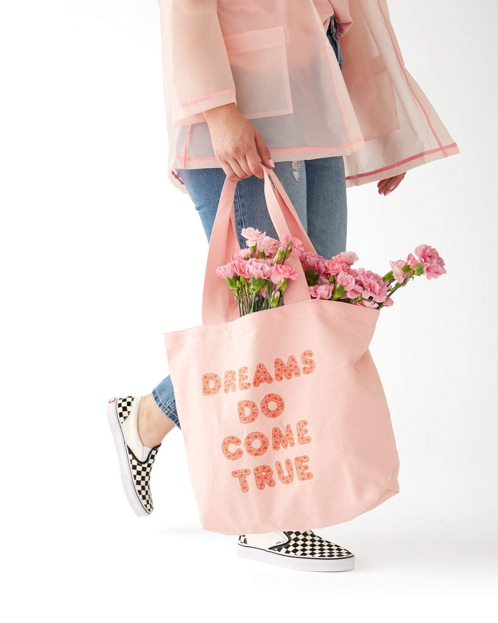 big canvas tote - dreams do come true