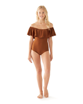 primrose swimsuit - rust