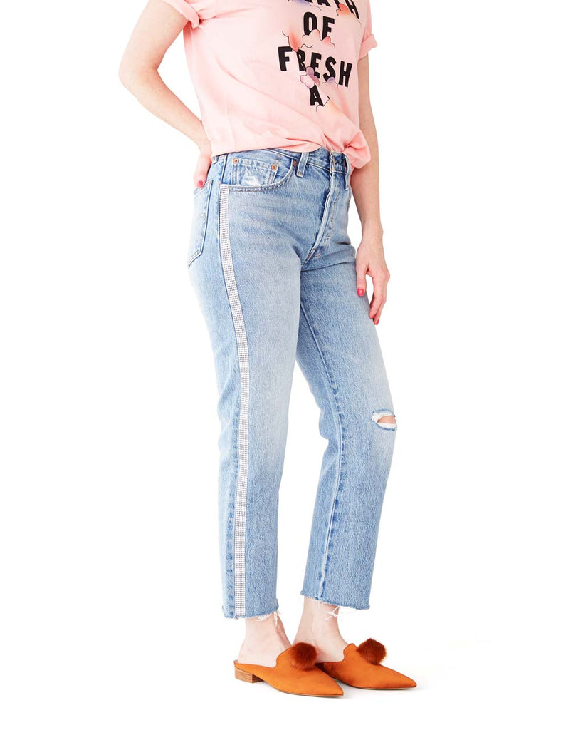 501 Crop Jeans - Diamond In The Rough
