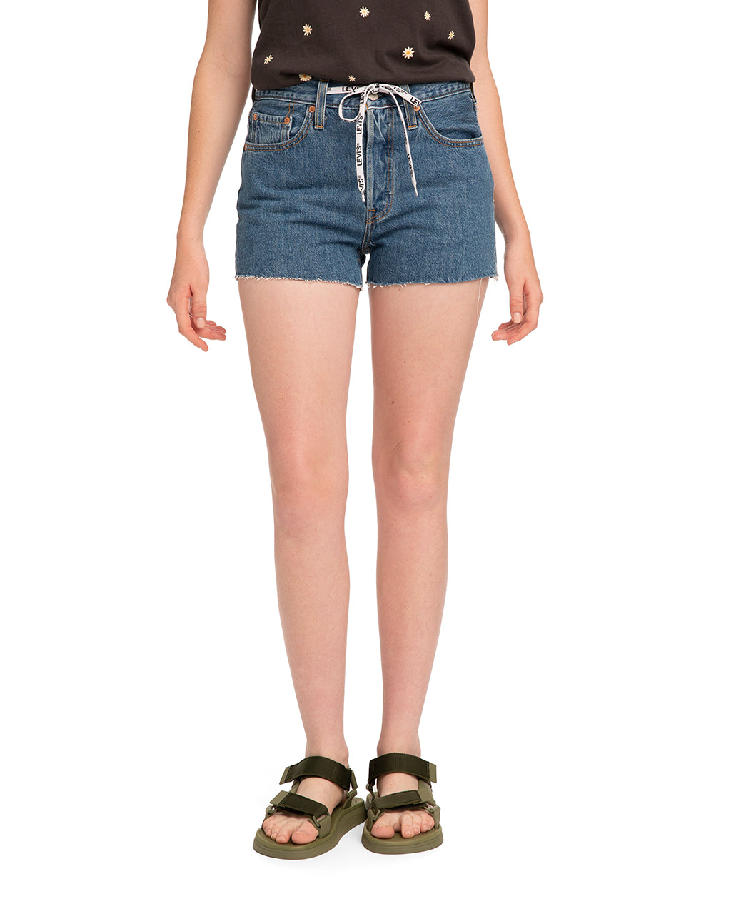 4c3651e3c1 501 High Rise Short - Draw-Back by levi's - shorts - ban.do