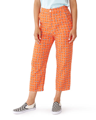 twin dot gauze pants