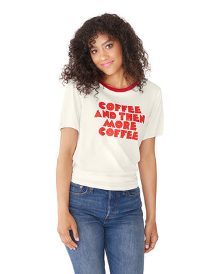 more coffee ringer tee