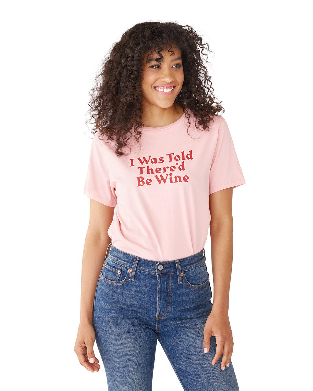 005ba0da6fbc I Was Told There d Be Wine Tee by ban.do - t-shirt - ban.do