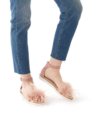 ruffle a few sandals