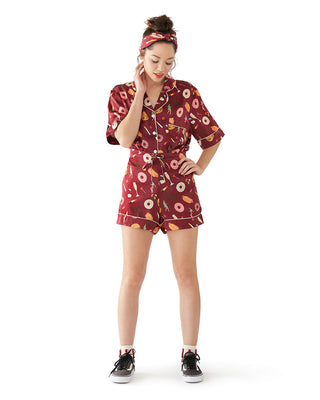 shopthelook_unhealthy pj silk shorts