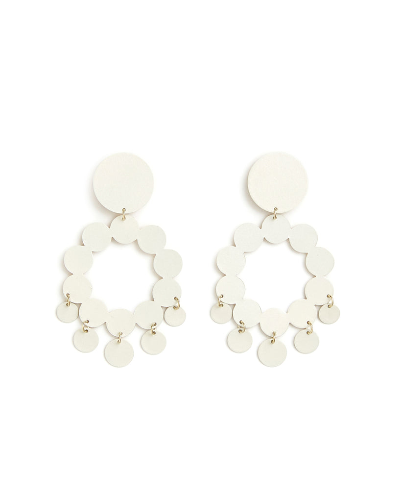 white pearl celia earrings