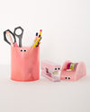 Desk Buddies Mini Stapler - Blush