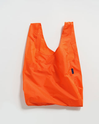 orange colored standard baggu