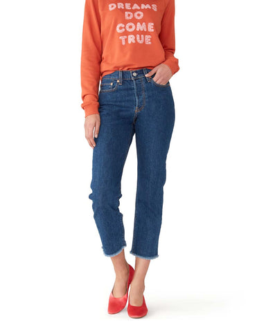 Wedgie Straight Jeans - Below the Belt