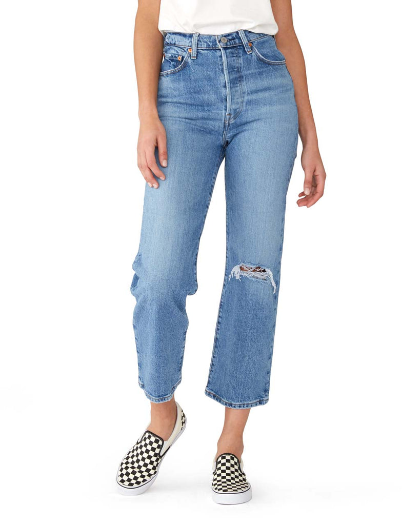 Ribcage Super High Rise Jeans - Haters Gonna Hate