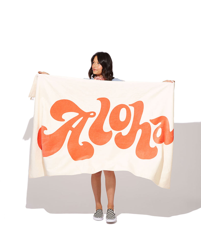 At six feet long, Beach Please! is serious about their oversized towels