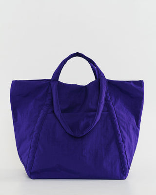 cobalt blue travel cloud bag