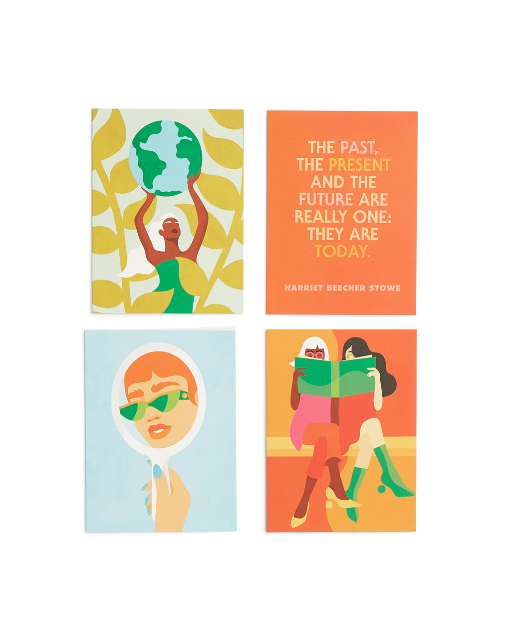 words to live by assorted cards