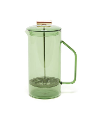 green translucent french press