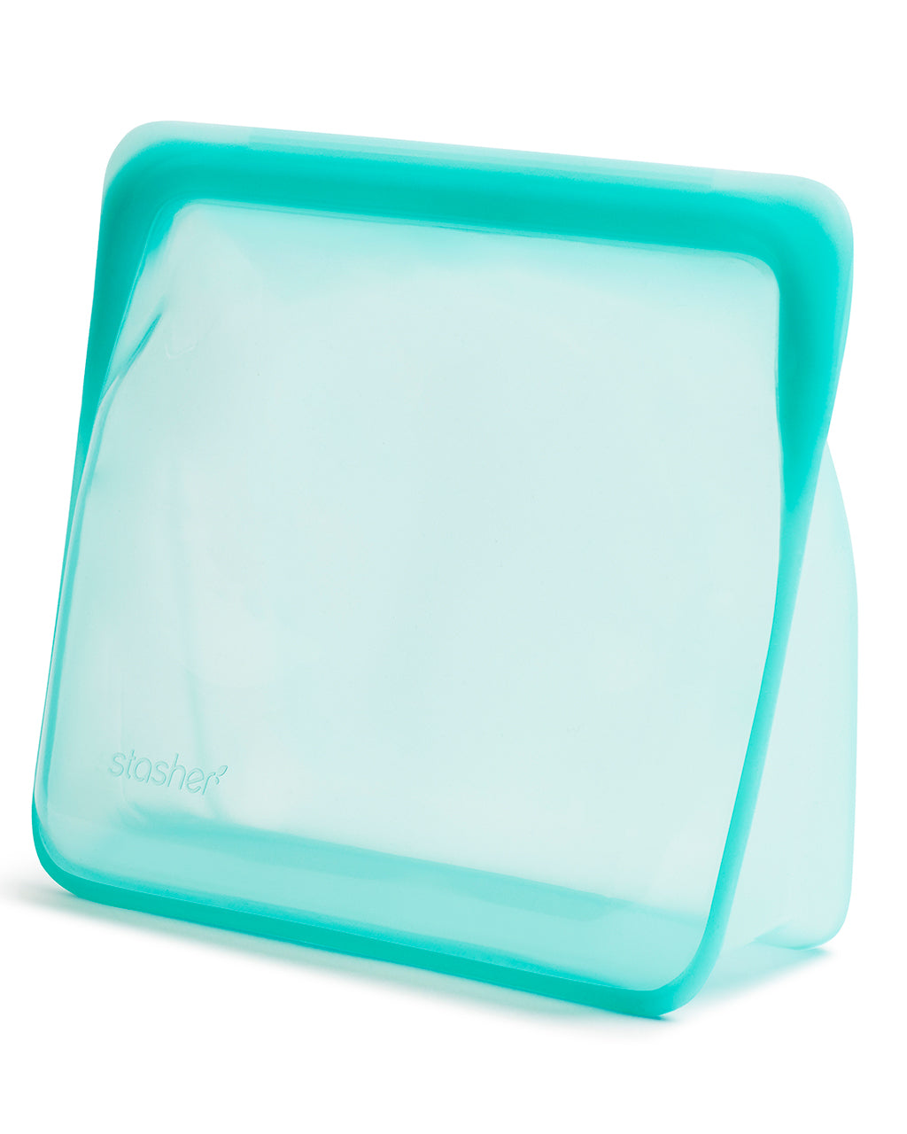 mega stand up stasher in aqua
