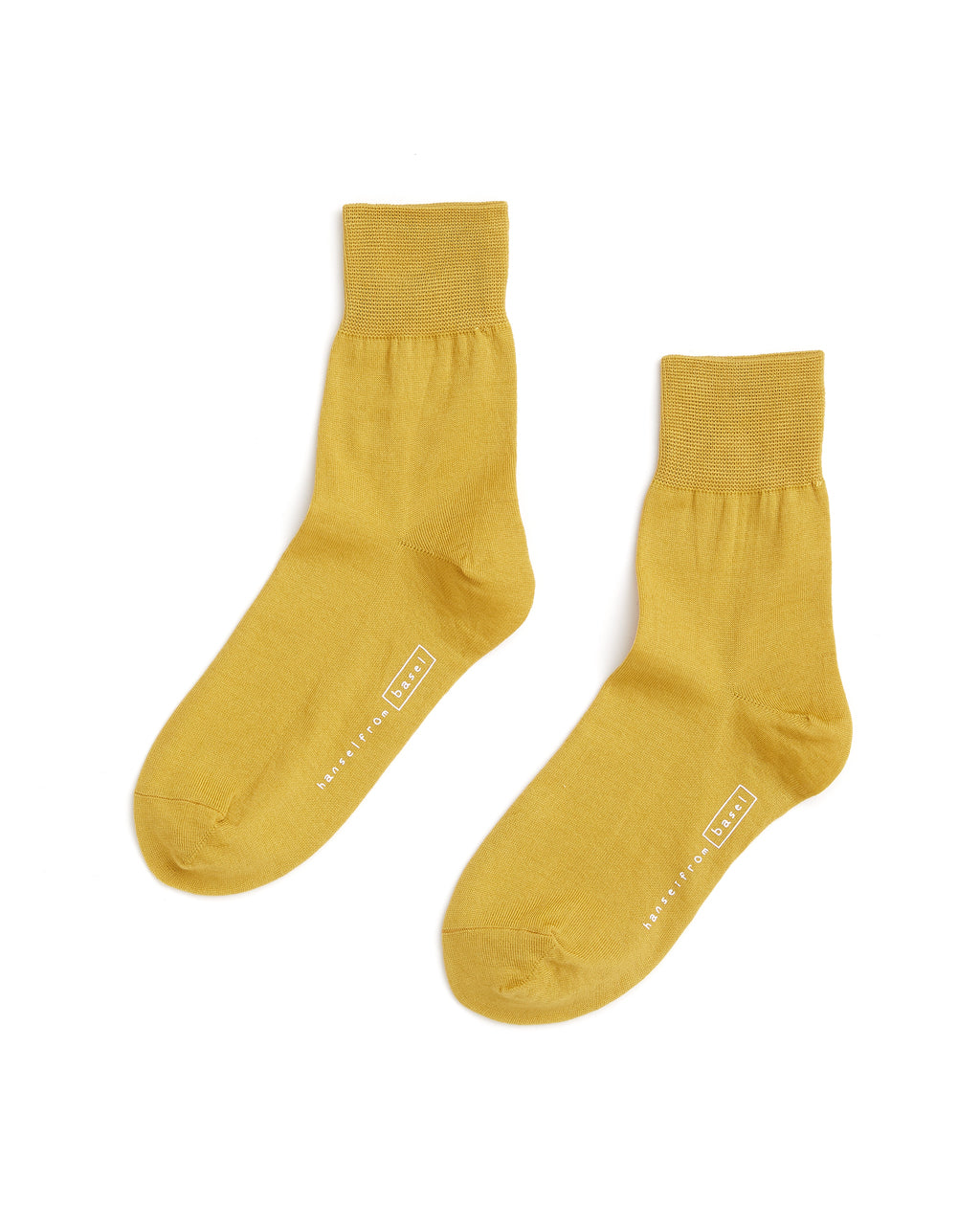 mustard yellow trouser socks
