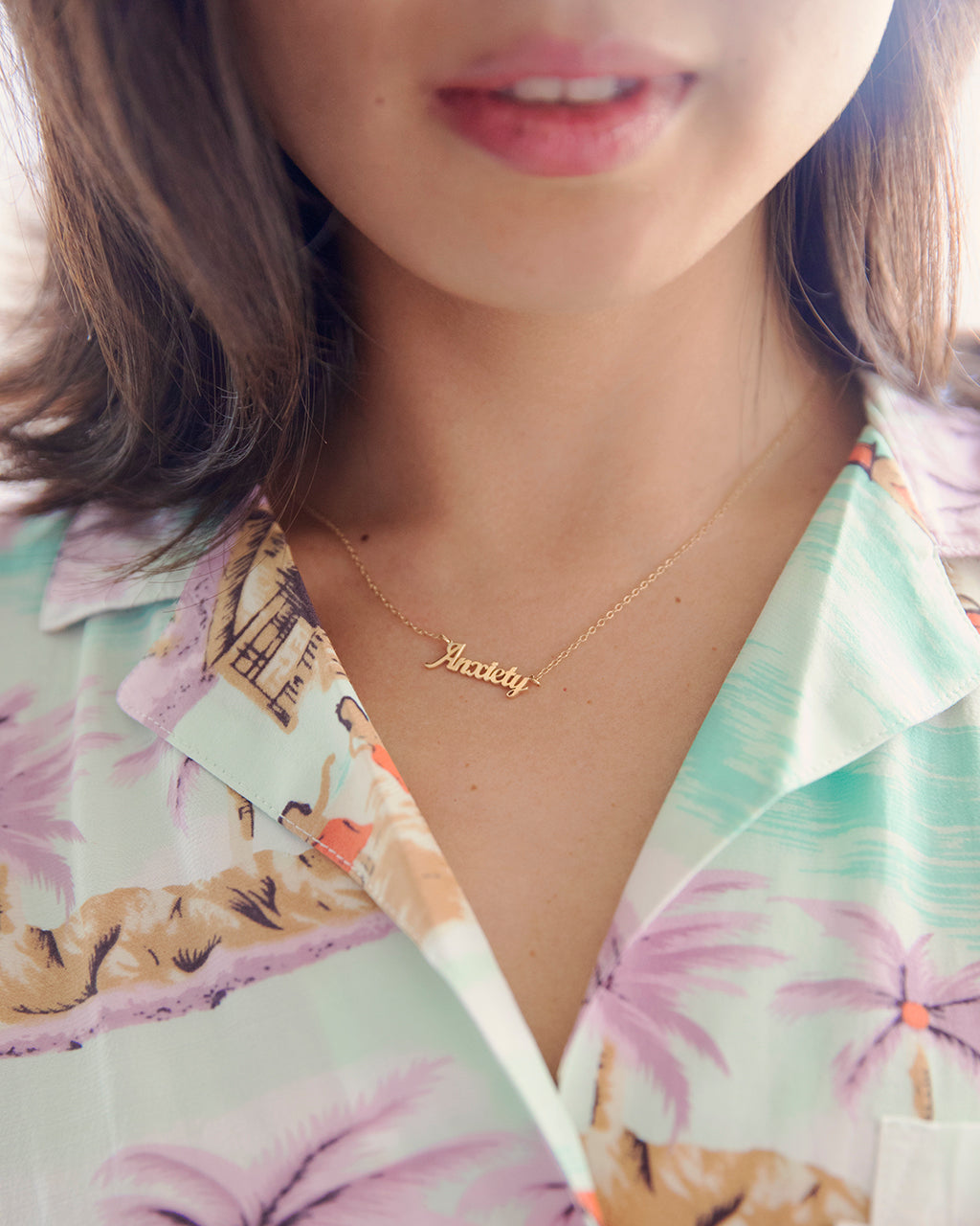 This necklace probably matches your favorite Hawaiian shirt as well.