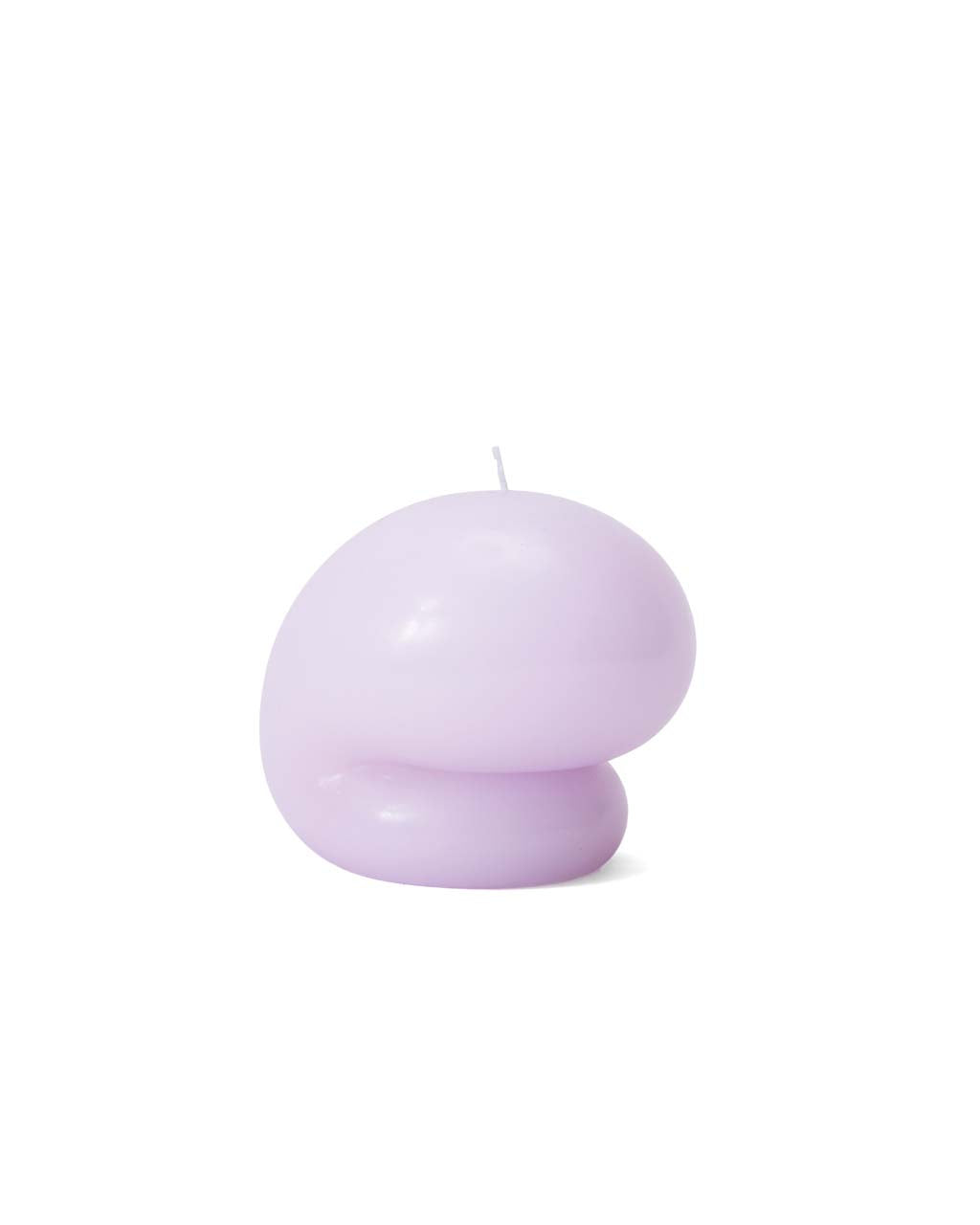 This Goober candle by Talbot & Yoon comes in a lilac purple color.